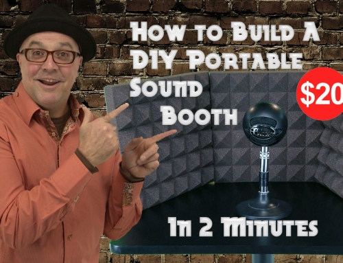 How to Build a DIY Portable Sound Booth for $15